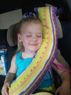 seatbelt pillow!