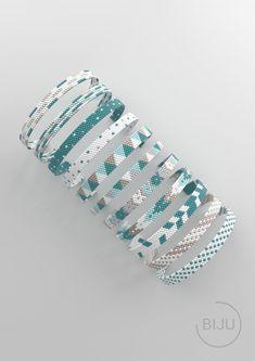 Diy Friendship Bracelets Patterns, Beaded Bracelet Patterns, Bead Loom Patterns, Peyote Patterns, Bracelet Designs, Crochet Patterns, Weaving Patterns, Jewelry Patterns, Loom Bracelets