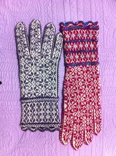 Ravelry: Cultural Fusion Gloves pattern by Angela Valdez