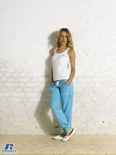 Russell Athletic Summer 2013 Ladies Collection #Russell #Athletic  #Russellbrands #Authentic #American #SportsWear #Apparel #Summer  #Collection #Sports #Wear #Sweatshirt #Womanswear Russell Athletic, Summer Collection, Mom Jeans, Sportswear, Normcore, American, Sweatshirts, Lady, Pants