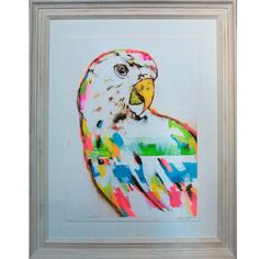 White Head Parrot 1 Original Artwork by Alissa Wright Parrot, Original Artwork, The Originals, Fun, Home Decor, Parrot Bird, Decoration Home, Room Decor, Home Interior Design