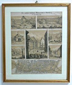 Graphic Nuremberg Germany $200.00