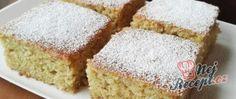 Recept Hrníčková cuketová buchta (chutná jako nadýchaný perník) Cookie Desserts, Dessert Recipes, Fudge, Lasagna Rolls, Healthy Deserts, Vanilla Cake, Sweet Recipes, Sweet Tooth, Food And Drink