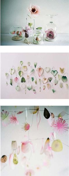 There are always more paper flowers to be found on the internet. They are always so lovely.