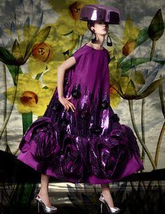 Dior  Haute   Couture by  John  Galliano .