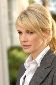 Lilly Rush (Kathryn Morris) on Cold Case. Great style for her layered cut.