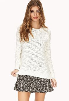 Cozy Open-Knit Sweater | FOREVER 21 - 2000051263