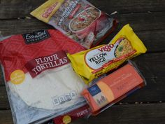 Backpacking Meals from the Grocery Store
