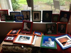 Kismet Kreations: Picture Frame Re-Do