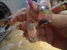 aquarium nail, water nail