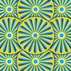 Rotating Wheels Optical Illusion
