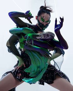 The Superb Bizarre AR Artworks By Nikita Replyanski, A Technological Artist And Cyber Fashion Designer Photography Projects, Art Photography, Fashion Photography, Cyberpunk, Maxon Cinema 4d, The Nines, 3d Artist, Art Model, Graphic Design Typography