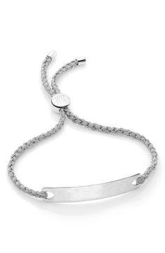 Sterling Silver Havana Mini Friendship Bracelet Monica Vinader 3ThLaB