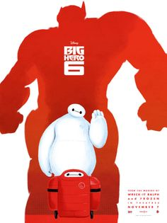 Baymax is the star in these gorgeous Big Hero 6 posters