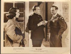 """8""""x10"""" original b&w photo/still, The 3rd Man (1949) Trevor Howard, Alida Valli"""