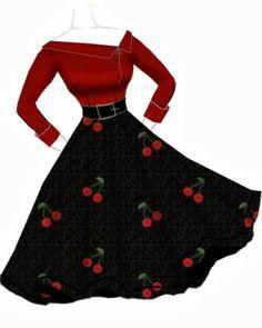 Blueberry Hill Fashions : Rockabilly Fashion Designs...10/7