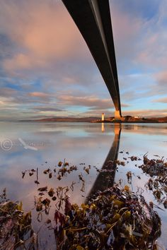 Skye Bridge Sunset in December. Kyleakin. Isle of Skye. Scotland.