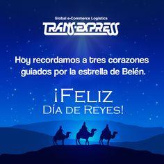 ¡Que los reyes magos hagan realidad todos tus sueños!  Son los deseos de Trans Express de El Salvador