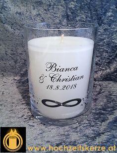hochzeitskerzen Candle Jars, Candles, Christian, Form, Glass, Embellishments, Dekoration, Candle Decorations, Newlyweds