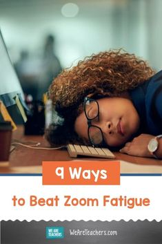 9 Ways to Beat Zoom Fatigue. Nine tips to help teachers and their students fight Zoom Fatigue- from stretches and movement breaks to optimally setting up a work station. #zoom #healtheducation #healthystudents #teaching Nonsense Words, Cvc Words, Sight Word Activities, Kindergarten Activities, Early Reading, English Language Learners, Eye Strain, Phonemic Awareness, Number Sense