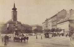 Budapest 150 years ago - Kálvin térről indult az első pesti utasszállító járat Újpest felé