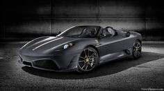Black Ferrari F Scuderia