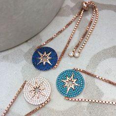 Pav Rose Gold Star Bracelet - new season