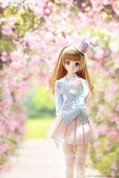 Cheerful Magical Girl Kureha by Azone International - The Dolly Insider Anime Dolls, Blythe Dolls, Plush Dolls, Pretty Dolls, Beautiful Dolls, Cartoon Girl Images, Cute Love Images, Barbies Pics, Anime Drawing Styles