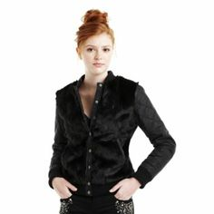 $55.00 so feminine sheek with this little girly girl jacket. If they don't already have a reason to not like you, this would surely give them one. I personally would add rhinestones to all of the quilted intersections on the sleeves, to glam it up. Maybe sew on a few mirrored pieces in a random or clustered pattern. If your comfortable with the cute but plain Jane view just go buy this and put it on. If only I didn't NEED a paying day job...smh  -- Pretty Black Sheep
