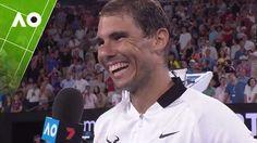 Rafael Nadal on court interview (4R) | Australian Open 2017
