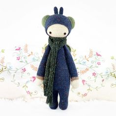 Lalylala crochet dolls I'm going to make. Starting with Buzz