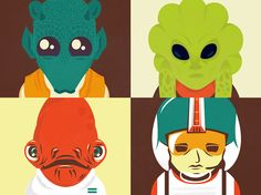 Star Wars Secondary Characters by ~whatthehell123456789 on deviantART