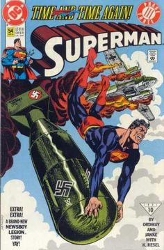 Bomb - Time And Time Again - Nazi - Superman - Airplane - Jerry Ordway