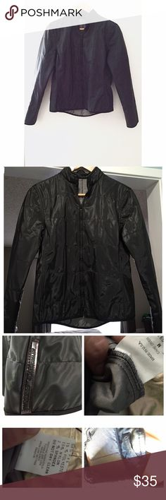 Guess black jacket Guess black jacket. Tag is M but I think it fits more like a small. Made in U.S.A, guess collection. Guess Jackets & Coats