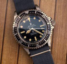 Rolex British Milsub ref .5513/5517