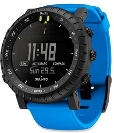 Essential equipment for backcountry endeavors and for finding your way around a new city—Suunto Core Crush Multifunction Watch. #REIGifts