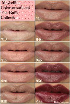 Maybelline Color Sensation Lipcolor Buffs