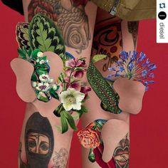 """""""#Repost @diesel ❤ ❤ ❤    -------------------------------------------------- #design #art#graphicdesign #colour #graphic#artwork #artgallery #digitalart…"""""""