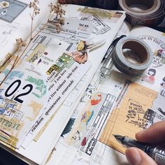 "348 Likes, 4 Comments - april (@aprilyap) on Instagram: ""Double the fun with weekly planner and art journal."""