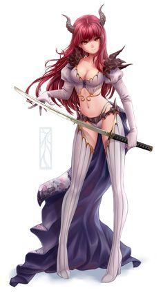 Demon Girl by Kotikomori
