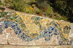 _DSC6103 | jillfleischmann | Flickr China Wall, Stone Mosaic, City Photo, Patio, Explore, Projects, Mosaic, Log Projects, Rock Mosaic