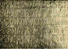 Sky Prayers Almanac in Rongorongo, Easter Island