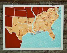 brainstorm print & design: the south