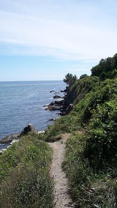 One of my favorite spots on Cliff Walk                #VisitRhodeIsland