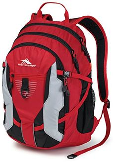 High Sierra Aggro Backpack Red -- This is an Amazon Affiliate link. Be sure to check out this awesome product.