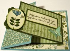 Crafty Maria's Stamping World: Joy Fold Card