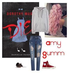 """Amy Gumm"" by polyvore-character-outfits on Polyvore featuring Converse, T By Alexander Wang, amy, dorothymustdie and gumm"