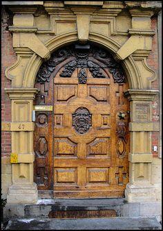 A Door in Ghent, Belgium~ photo by Blackburn lad1, via Flickr