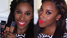 BEST Spring Summer Foundations for Women of Color |Jackie Aina. Another Fave Dark-Skinned Makeup YouTuber. Her tips are for all shades, though. She's Great!