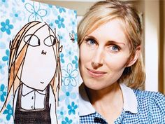 I grew up with Lauren Child's books and the 'Charlie and Lola' TV show. Her illustrations have a charm about them that I love, the mix of collage and drawing is so unique.
